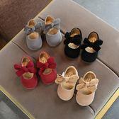 女童娃娃鞋  女寶寶公主鞋女兒童單鞋學步鞋軟底嬰兒鞋1-3歲小皮鞋  寶貝計畫