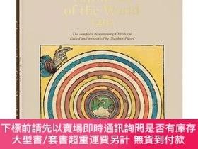 二手書博民逛書店Hartmann罕見Schedel Chronicle of the World,15世紀的歷史生活與城市導讀