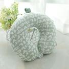 【快速出貨】日系簡約 - 棉絨字母頸枕