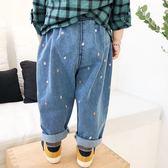 兒童休閒牛仔褲哈倫褲夏季薄款