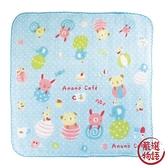 【日本製】【anano cafe】日本製 快樂寶貝 紗布口水巾 藍色(一組:5個) SD-2887 - 日本製