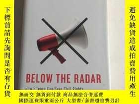 二手書博民逛書店below罕見the radar gash 在雷達下面Y25607