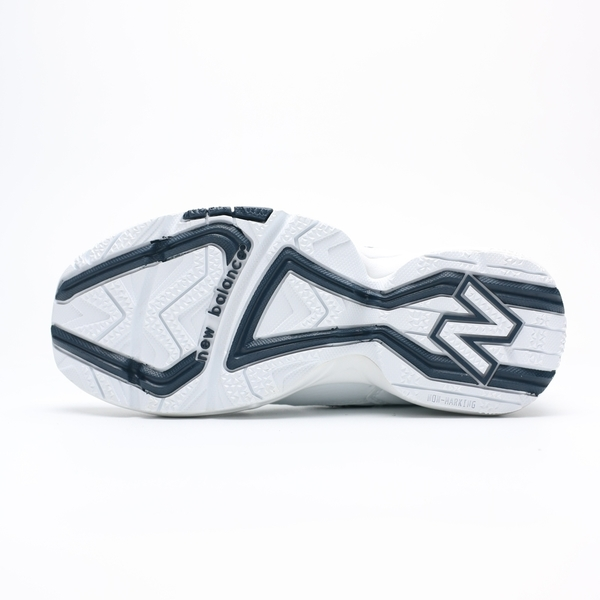 NEW BALANCE 608 正韓 白皮革 深藍刺繡 復古 休閒 老爹鞋 男女 (布魯克林) WX608WT