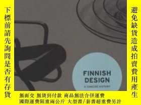 二手書博民逛書店Finnish罕見Design - a Concise Hist
