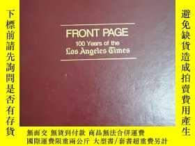 二手書博民逛書店英文原版:FRONT罕見PAGE(1881-1981)Y367822 by Digby Diehl 略 出版