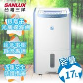 SANLUX台灣三洋 17公升大容量微電腦除濕機/SDH-170LD
