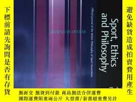 二手書博民逛書店Sport,罕見Ethics and Philosophy (j