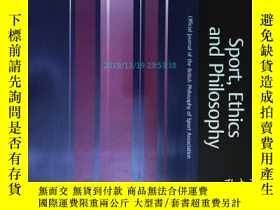 二手書博民逛書店Sport,罕見Ethics and Philosophy (j