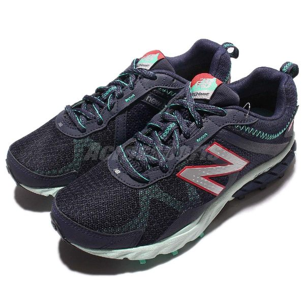New Balance 越野慢跑鞋 NB 610 藍 綠 Gore-Tex 防水 運動鞋 舒適大底 透氣設計 女鞋【PUMP306】 WT610GX5B