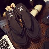 人字拖女夏時尚防滑外穿平底夾腳拖鞋海邊度假沙灘鞋女平跟涼拖鞋