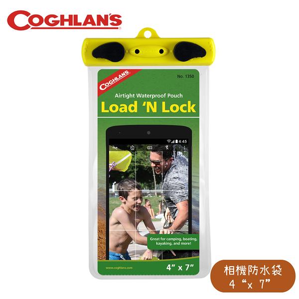 【COGHLANS 加拿大 Load N Lock 4吋 x 7吋 相機防水袋】1350/夾鍊式防水袋/可觸控/3C防水