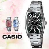 【熱銷】CASIO手錶專賣店 卡西歐 LTP-1208D-1B 女錶 指針表 不銹鋼錶帶 強力防刮礦物玻璃