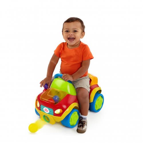 【奇買親子購物網】Kids II-來玩球吧-炫亮發射小球助步車