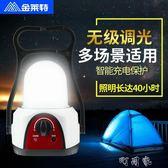 LED馬燈強光可充電超亮戶外野營帳篷掛燈多功能露營燈擺攤燈 盯目家