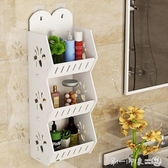 免打孔衛生間浴室置物架防水廁所洗手間洗漱臺墻上收納洗澡式壁掛 第一印象