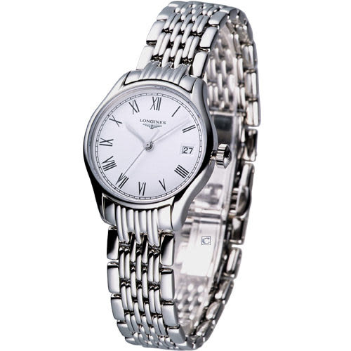 L42594116 浪琴錶 LONGINES 琴韻系列 女用石英腕錶(寶時鐘錶)
