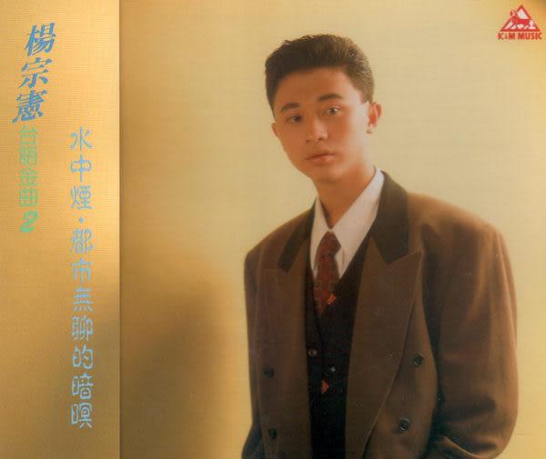 楊宗憲 台語金曲 2 CD (音樂影片購)