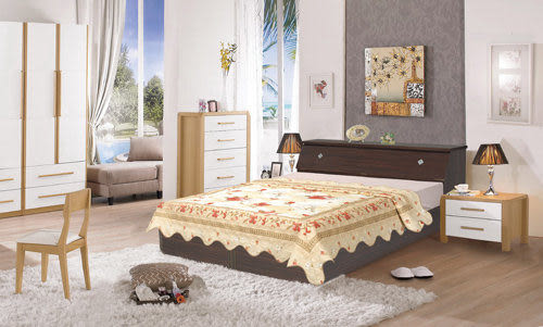【時尚屋】超值Terry5尺床箱型後封邊雙人床組只含床頭箱+床底-不含床墊台灣製