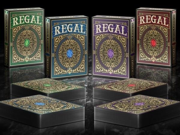 【USPCC 撲克】Regal playing cards