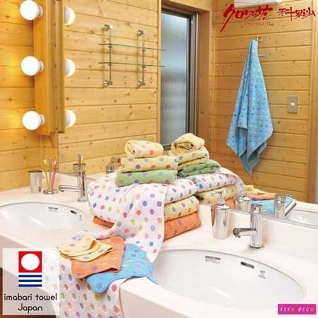 【クロワッサン科羅沙】日本ISSO ECCO今治(imabari towel)~彩玉方巾34x35cm