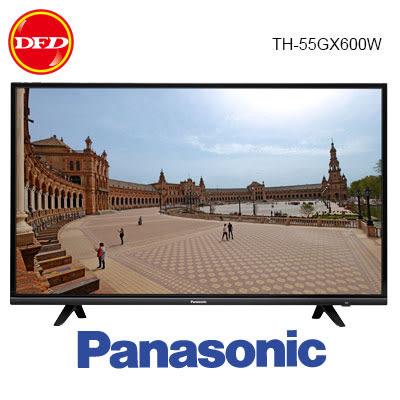 2019 Panasonic 國際 TH-55GX600W 55吋 六原色 4K 智慧聯網 電視 公司貨 送北區桌裝 55GX600