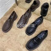 小皮鞋女英倫2021新款學生百搭學院風日系樂福鞋軟皮單鞋 快速出貨