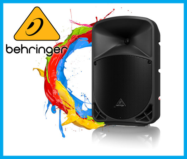【小麥老師樂器館】Behringer 耳朵牌 Proered Speaker B110D 主動式喇叭 喇叭