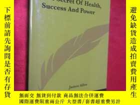 二手書博民逛書店The罕見Secret Of Health Success An