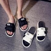 拖鞋男時尚外穿韓版一字拖