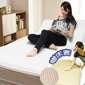 【KOTAS】高週波 專利折疊休閒床墊 送床套(單人)