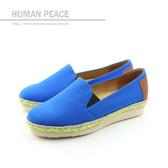 HUMAN PEACE 懶人鞋 藍色 女鞋 no381