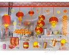 節慶王【Z775200】年節櫥窗靜電貼4...