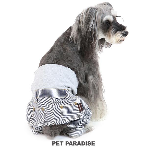 【PET PARADISE 寵物精品】PP 條紋牛仔連腳禮貌帶(3S/DSS/SS/DS/S) 寵物禮貌帶