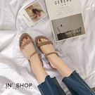 IN'SHOP涼鞋-韓系歐膩清新素面氣質涼鞋-共2色【KF00882】
