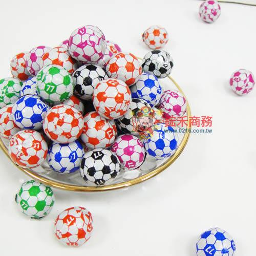 足球巧克力77哈哈球巧克力300g【0216零食團購】GC038-0.5