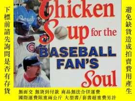 二手書博民逛書店Chicken罕見soup for the baseball f