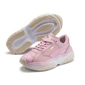 Puma Storm.Y 女款 粉色 運動鞋 休閒鞋 皮革 休閒 復古 慢跑 健身 運動休閒鞋 37216601