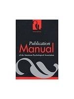 二手書博民逛書店《Publication Manual of the Ameri