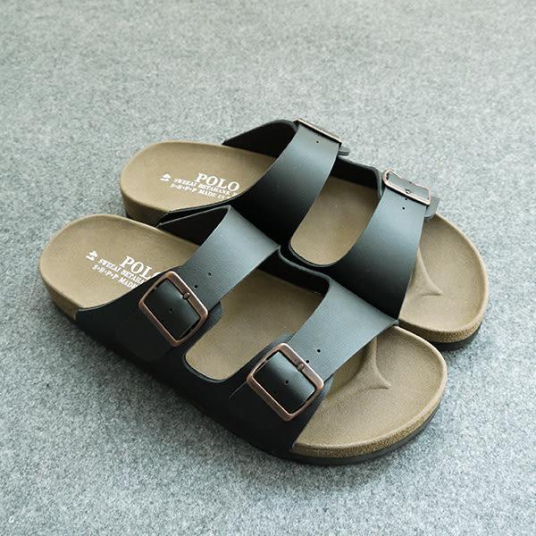 拖鞋 MIT經典百搭雙扣拖鞋 805