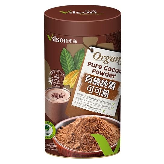米森 有機純黑可可粉 150g/罐