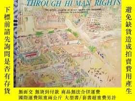 二手書博民逛書店Sharing罕見a better life together through human rightsY14
