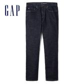 Gap男裝 深色水洗緊身窄腿牛仔褲 912035-水洗色