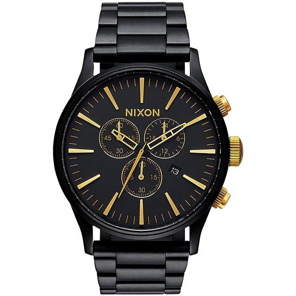 NIXON The SENTRY CHRONO 藍調搖滾潮流運動腕錶-A3861041
