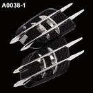 BMW 鯊魚腮 側風口 裝飾貼 引擎蓋 鯊魚鰭 出風口貼 E36 E39 E46 E53 E87 F01 沂軒精品 A0038-1