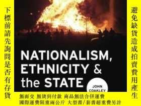 二手書博民逛書店Nationalism,罕見Ethnicity And The State-民族主義、民族主義和國家Y4366
