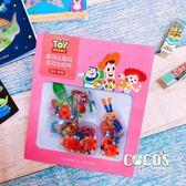 韓國大創 正版迪士尼貼紙 玩具總動員 角色人物 透明貼 貼紙包 裝飾貼紙 60張入 粉款 COCOS DB043