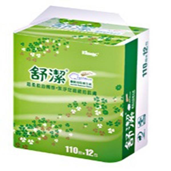 【南紡購物中心】舒潔抽取式衛生紙(110抽/12包/6袋/箱)