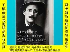 二手書博民逛書店一個青年藝術家的肖像罕見英文原版小說 A Portrait of
