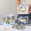 收納盒 鐵盒子創意帶蓋洗衣粉收納盒整理盒家用客廳大容量餅干零食儲物盒 8號店