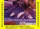 二手書博民逛書店Painting罕見Close-focus Flowers In WatercolorY256260 Ann